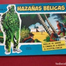 Tebeos: HAZAÑAS BÉLICAS-.VOLUMEN-Nº 5- TORAY, 1957. ORIGINAL-IMPECABLE. Lote 192046696