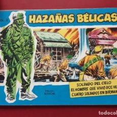 Tebeos: HAZAÑAS BÉLICAS-.VOLUMEN-Nº2- TORAY, 1957. ORIGINAL-IMPECABLE. Lote 192048348