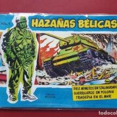 Tebeos: HAZAÑAS BÉLICAS-.VOLUMEN-Nº1- TORAY, 1957. ORIGINAL-IMPECABLE. Lote 192048416