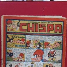 Tebeos: HISTORIETAS GRAFICAS CHISPA Nº 18 TORAY ANTIGUO ORIGINAL , CT2. Lote 192077273