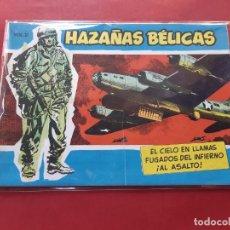 Tebeos: HAZAÑAS BÉLICAS-.VOLUMEN-Nº 20- TORAY, 1957. ORIGINAL-EXCELENTE ESTADO. Lote 192143461