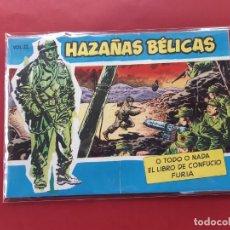 Tebeos: HAZAÑAS BÉLICAS-.VOLUMEN-Nº 22- TORAY, 1957. ORIGINAL-EXCELENTE ESTADO. Lote 192143487