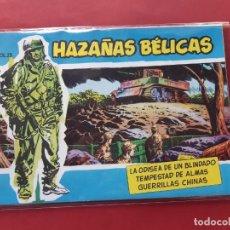 Tebeos: HAZAÑAS BÉLICAS-.VOLUMEN-Nº 23- TORAY, 1957. ORIGINAL-EXCELENTE ESTADO. Lote 192143515