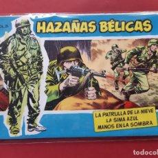 Tebeos: HAZAÑAS BÉLICAS-.VOLUMEN-Nº 24- TORAY, 1957. ORIGINAL-EXCELENTE ESTADO. Lote 192143577