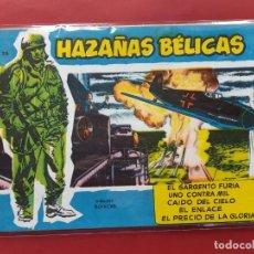 Tebeos: HAZAÑAS BÉLICAS-.VOLUMEN-Nº 25- TORAY, 1957. ORIGINAL-EXCELENTE ESTADO. Lote 192143592