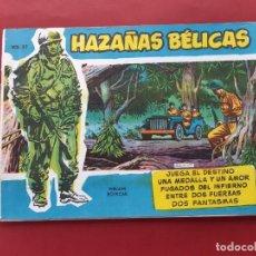 Tebeos: HAZAÑAS BÉLICAS-.VOLUMEN-Nº 27- TORAY, 1957. ORIGINAL-EXCELENTE ESTADO. Lote 192143640