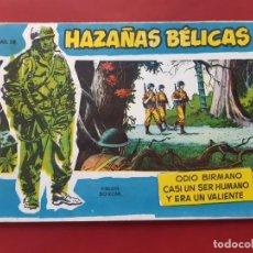 Tebeos: HAZAÑAS BÉLICAS-.VOLUMEN-Nº 28- TORAY, 1957. ORIGINAL-EXCELENTE ESTADO. Lote 192143678