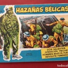 Tebeos: HAZAÑAS BÉLICAS-.VOLUMEN-Nº 29- TORAY, 1957. ORIGINAL-EXCELENTE ESTADO. Lote 192143728