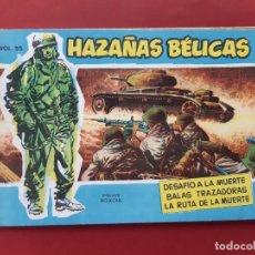 Tebeos: HAZAÑAS BÉLICAS-.VOLUMEN-Nº 35 TORAY, 1958. ORIGINAL-EXCELENTE ESTADO. Lote 192144017