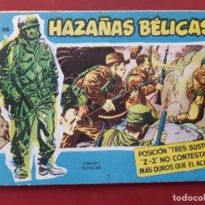 Tebeos: HAZAÑAS BÉLICAS-.VOLUMEN-Nº 36 TORAY, 1958. ORIGINAL-EXCELENTE ESTADO. Lote 192144057