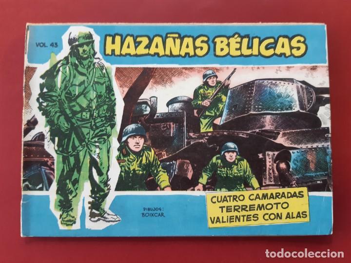 HAZAÑAS BÉLICAS VOLUMEN Nº 43 TORAY 1958 ORIGINAL EXCELENTE ESTADO (Tebeos y Comics - Toray - Hazañas Bélicas)