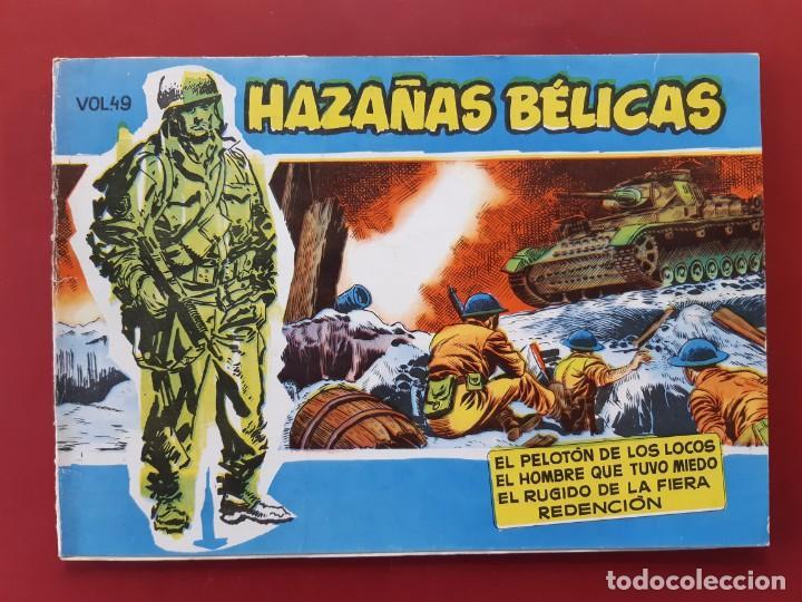 HAZAÑAS BÉLICAS VOLUMEN Nº 49 TORAY 1958 ORIGINAL EXCELENTE ESTADO (Tebeos y Comics - Toray - Hazañas Bélicas)