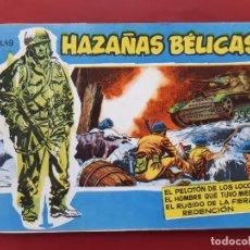 Tebeos: HAZAÑAS BÉLICAS VOLUMEN Nº 49 TORAY 1958 ORIGINAL EXCELENTE ESTADO. Lote 192144666