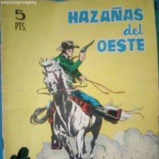 Tebeos: COMIC EDICIONES TORAY ( HAZAÑAS DEL OESTE ) AÑO 1966. Lote 192223501