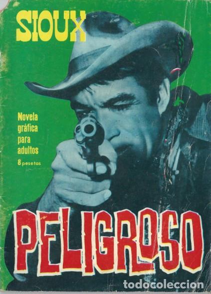 SIOUX - Nº 53 -PELIGROSO- 1966 - GRAN JOSÉ DUARTE- CORRECTO- MUY DIFÍCIL-LEAN-2997 (Tebeos y Comics - Toray - Sioux)