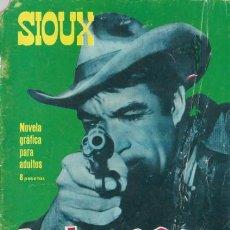 Tebeos: SIOUX - Nº 53 -PELIGROSO- 1966 - GRAN JOSÉ DUARTE- CORRECTO- MUY DIFÍCIL-LEAN-2997. Lote 192261305