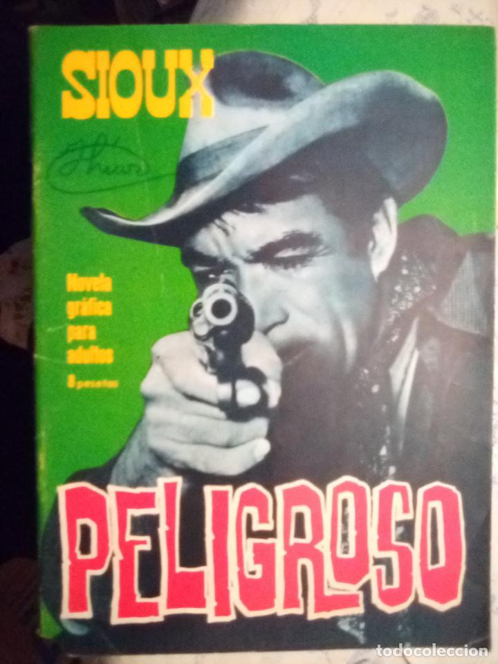 Tebeos: SIOUX - Nº 53 -PELIGROSO- 1966 - GRAN JOSÉ DUARTE- CORRECTO- MUY DIFÍCIL-LEAN-2997 - Foto 2 - 192261305