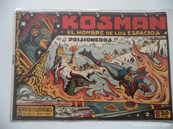 KOSMAN Nº 6 ORIGINAL (Tebeos y Comics - Toray - Katan)