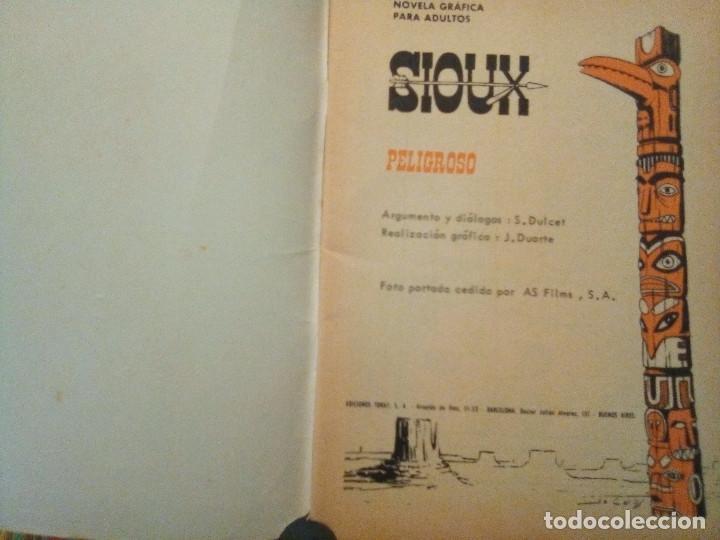 Tebeos: SIOUX - Nº 53 -PELIGROSO- 1966 - GRAN JOSÉ DUARTE- CORRECTO- MUY DIFÍCIL-LEAN-2997 - Foto 6 - 192261305