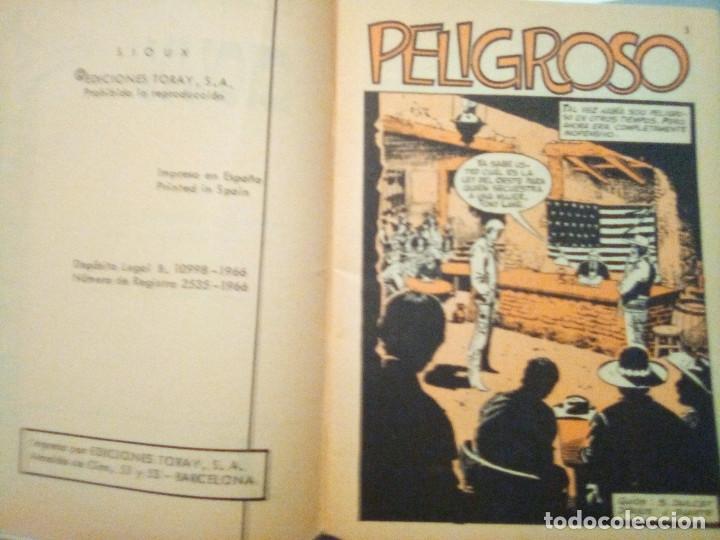 Tebeos: SIOUX - Nº 53 -PELIGROSO- 1966 - GRAN JOSÉ DUARTE- CORRECTO- MUY DIFÍCIL-LEAN-2997 - Foto 7 - 192261305