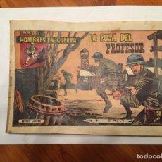 Tebeos: COMIC HAZAÑAS BELICAS ,HOMBRES EN GERRA , ANTIGUO, MUY FRAGIL,Nº 13. Lote 192575896