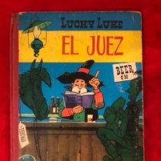 Tebeos: LUCKY LUKE EL JUEZ EDITORIAL TORAY PRIMERA EDICION 1964. Lote 192580953
