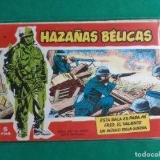 Tebeos: HAZAÑAS BELICAS Nº 14 SERIE ROJA 1958 EXCELENTE ESTADO. Lote 192616728