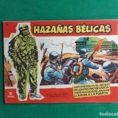 Tebeos: HAZAÑAS BELICAS Nº 25 SERIE ROJA 1958 EXCELENTE ESTADO. Lote 192617026