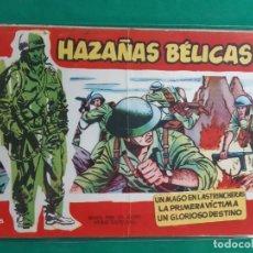 Tebeos: HAZAÑAS BELICAS Nº 25 SERIE ROJA 1958 BUEN ESTADO. Lote 192617080