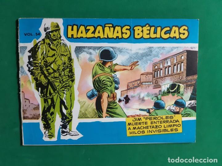 HAZAÑAS BELICAS VOLUMEN 54 EXCELENTE ESTADO (Tebeos y Comics - Toray - Hazañas Bélicas)