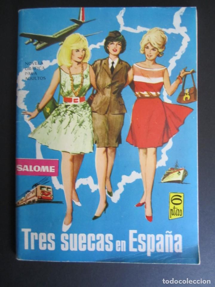 SALOME (1961, TORAY) 192 · 10-VI-1966 · SALOME (Tebeos y Comics - Toray - Otros)