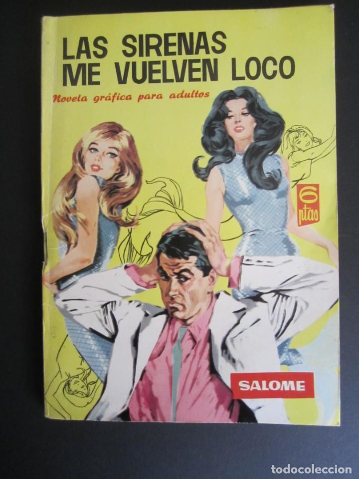 SALOME (1961, TORAY) 186 · 29-IV-1966 · SALOME (Tebeos y Comics - Toray - Otros)