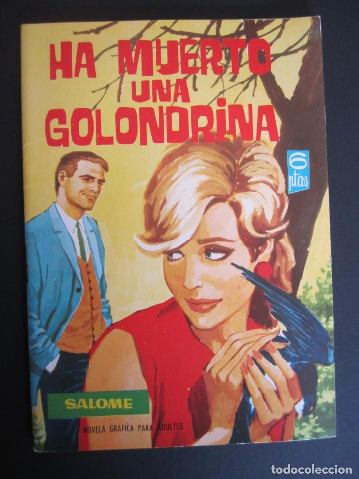 SALOME (1961, TORAY) 214 · 11-XI-1966 · SALOME (Tebeos y Comics - Toray - Otros)