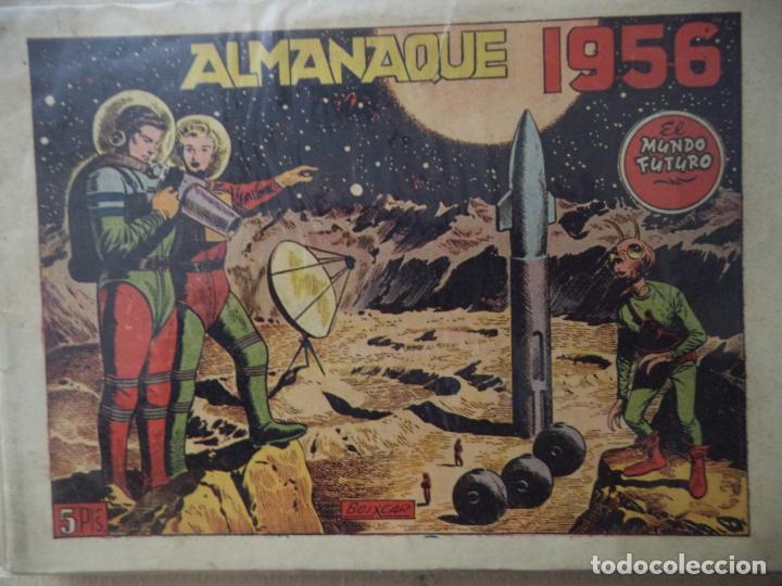 MUNDO FUTURO ALMANAQUE 1956 ORIGINAL (Tebeos y Comics - Toray - Mundo Futuro)