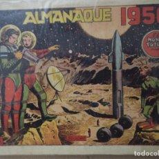 Tebeos: MUNDO FUTURO ALMANAQUE 1956 ORIGINAL. Lote 193176051