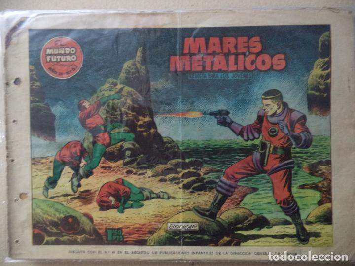 EL MUNDO FUTURO Nº 62 ORIGINAL (Tebeos y Comics - Toray - Mundo Futuro)