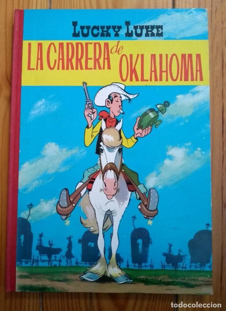 LUCKY LUKE: LA CARRERA DE OKLAHOMA - 2ª EDICIÓN 1969 - D5 - BUEN ESTADO! (Tebeos y Comics - Toray - Otros)