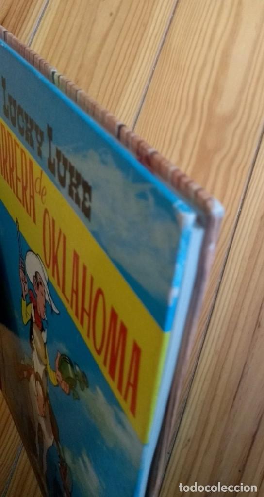 Tebeos: Lucky Luke: La Carrera de Oklahoma - 2ª Edición 1969 - D5 - Buen estado! - Foto 4 - 193258371