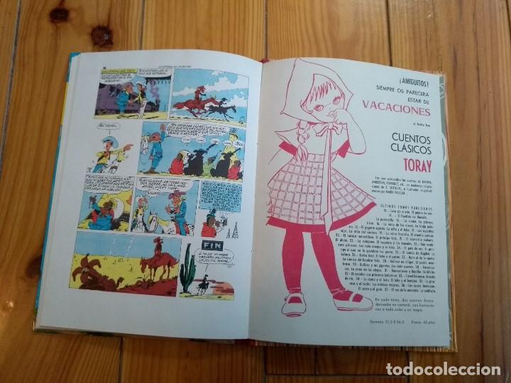 Tebeos: Lucky Luke: La Carrera de Oklahoma - 2ª Edición 1969 - D5 - Buen estado! - Foto 11 - 193258371