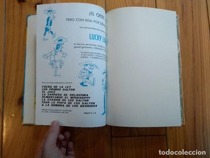 Tebeos: Lucky Luke: La Carrera de Oklahoma - 2ª Edición 1969 - D5 - Buen estado! - Foto 12 - 193258371