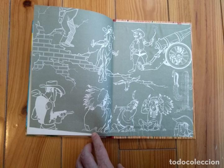 Tebeos: Lucky Luke: La Carrera de Oklahoma - 2ª Edición 1969 - D5 - Buen estado! - Foto 13 - 193258371