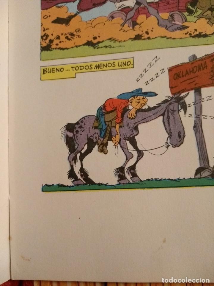 Tebeos: Lucky Luke: La Carrera de Oklahoma - 2ª Edición 1969 - D5 - Buen estado! - Foto 14 - 193258371