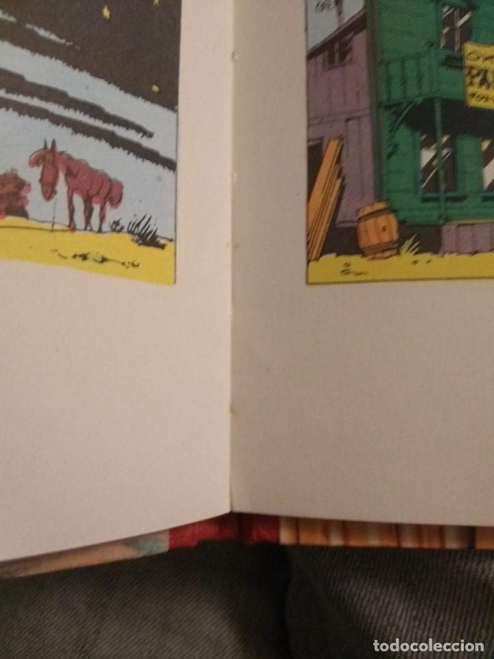 Tebeos: Lucky Luke: La Carrera de Oklahoma - 2ª Edición 1969 - D5 - Buen estado! - Foto 16 - 193258371