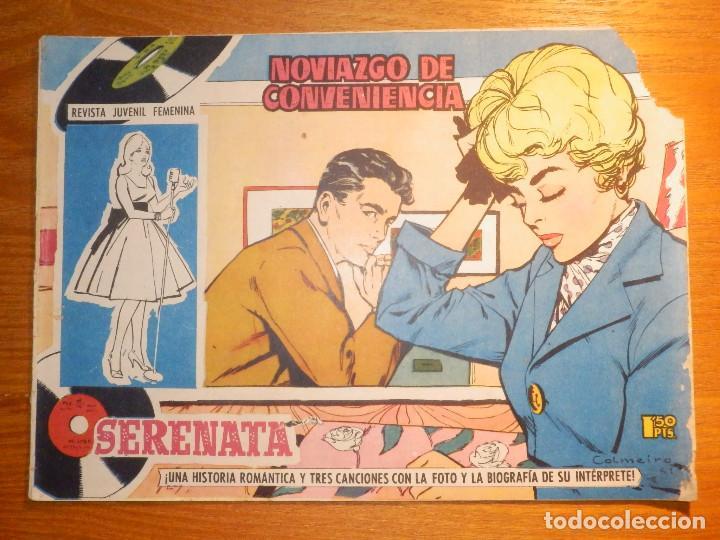 TEBEO - COMIC - COLECCIÓN SERENATA - NOVIAZGO DE CONVENIENCIA - Nº 004 - EDICIONES TORAY (Tebeos y Comics - Toray - Otros)