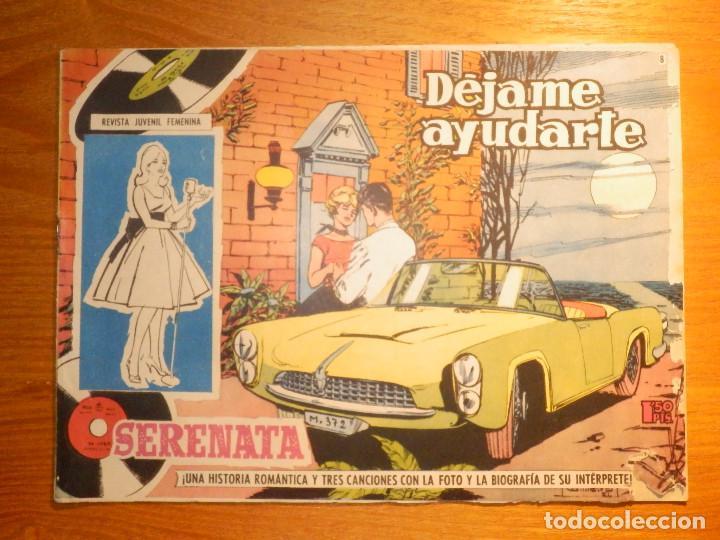 TEBEO - COMIC - COLECCIÓN SERENATA - DÉJAME AYUDARTE - Nº 8 - EDICIONES TORAY (Tebeos y Comics - Toray - Otros)