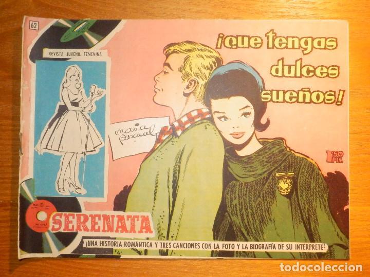TEBEO - COMIC - COLECCIÓN SERENATA - QUE TENGAS DULCES SUEÑOSL - Nº 62 - EDICIONES TORAY (Tebeos y Comics - Toray - Otros)