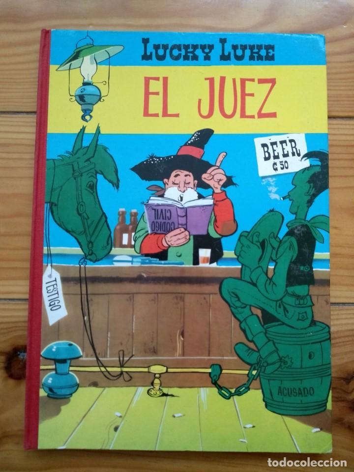 LUCKY LUKE: EL JUEZ - 2ª EDICIÓN 1969 - EXCELENTE ESTADO - D2 (Tebeos y Comics - Toray - Otros)