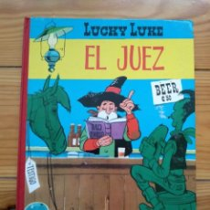 Tebeos: LUCKY LUKE: EL JUEZ - 2ª EDICIÓN 1969 - EXCELENTE ESTADO - D2. Lote 193303373