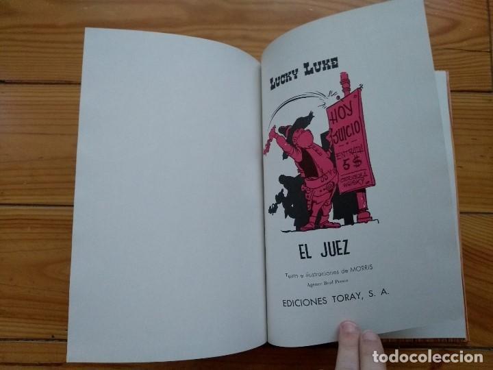 Tebeos: Lucky Luke: El Juez - 2ª Edición 1969 - Excelente estado - D2 - Foto 8 - 193303373