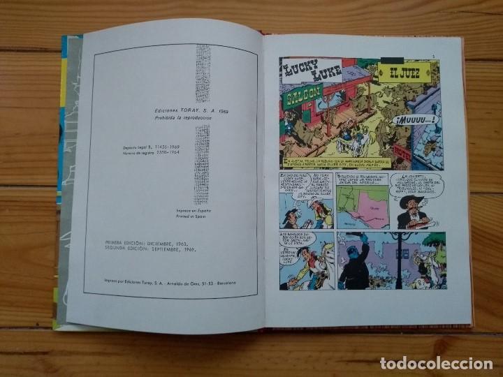 Tebeos: Lucky Luke: El Juez - 2ª Edición 1969 - Excelente estado - D2 - Foto 9 - 193303373